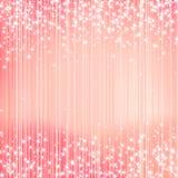 Fond lumineux avec des étoiles Conception de fête illustration de vecteur