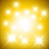 Fond lumineux brillant Photo libre de droits