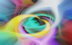Fond lumineux coloré multi de remous - illustration photos stock