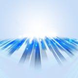 Fond lumineux contemporain de technologie abstraite Photos libres de droits