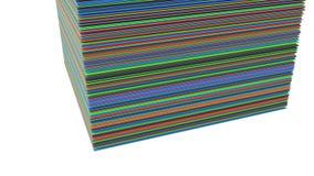 Fond lumineux de couleur Illustration Stock