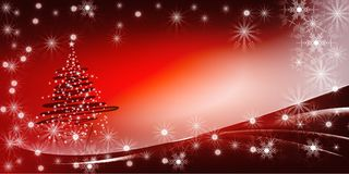 Fond lumineux de gradient d'arbre de Noël photographie stock libre de droits