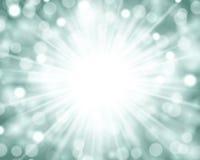 Fond lumineux de lumières Photo libre de droits