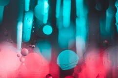 Fond lumineux et coloré de concept de fibre de verre Images libres de droits