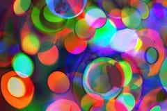 Fond lumineux multicolore abstrait psychédélique photographie stock libre de droits