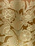 Fond luxueux d'impression floral Image stock