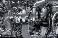fond mécanique de moteur diesel images libres de droits
