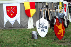 Fond médiéval Photos libres de droits