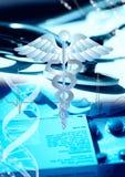 Fond médical Photos stock