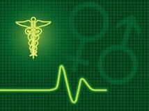 Fond médical Photo libre de droits