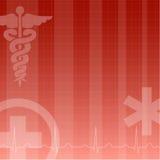 Fond médical Image libre de droits