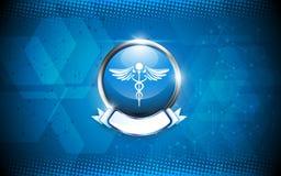 Fond médical d'abrégé sur concept de pharmacie Photos libres de droits