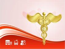 Fond médical de soins de santé Photo libre de droits