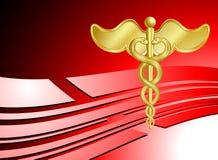 Fond médical de soins de santé Photos libres de droits