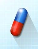 Fond médical de soins de santé de capsule Photos libres de droits