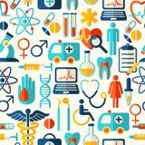 Fond médical sans joint Photographie stock libre de droits