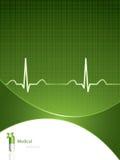Fond médical vert Photos libres de droits
