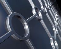 Fond métallique illustration libre de droits