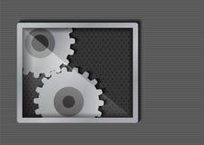 Fond métallique abstrait Photo libre de droits