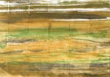 Fond métallique d'aquarelle d'abrégé sur rayon de soleil Photo stock