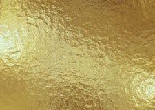 Fond métallique d'or, texture de toile, fond de fête lumineux photographie stock
