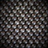Fond métallique de boules Photographie stock libre de droits