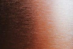 Fond métallique de gradient, cuivre photos libres de droits