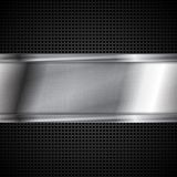 Fond métallique de technologie abstraite Images libres de droits