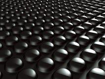 Fond métallique foncé de design industriel Images stock