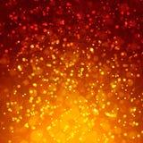 Fond magique abstrait de bokeh Image stock