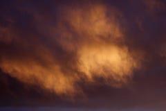 Fond magique de nuage Photo libre de droits