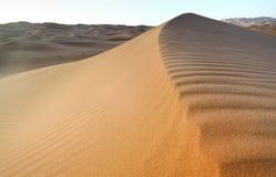 Fond marocain de dune de désert Photo libre de droits
