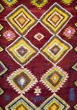 Fond marocain de tapis Photographie stock libre de droits