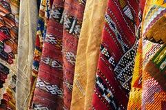 Fond marocain de tapis Photo stock