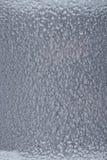 Fond martelé argenté en métal, texture métallique abstraite, feuille photographie stock