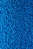 Fond martelé bleu en métal, texture métallique abstraite, feuille o photos libres de droits