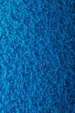 Fond martelé bleu en métal, texture métallique abstraite, feuille o photos stock