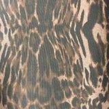 Fond matériel de modèle de tissu d'impression de léopard Image libre de droits