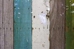 Fond matériel en bois abstrait créatif pour le papier peint décoratif de vintage Photos libres de droits