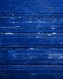 Fond matériel en bois bleu pour le papier peint de vintage - bleu-foncé Photos stock