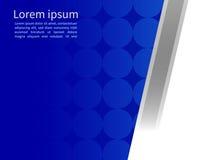 Fond matériel géométrique abstrait bleu et blanc de conception, Photos stock