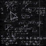fond mathématique Photographie stock libre de droits