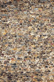 Fond médiéval normand de mur en pierre Photos libres de droits