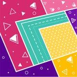 Fond mignon abstrait Images stock