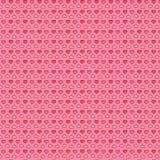 Fond mignon rose de coeurs Image stock