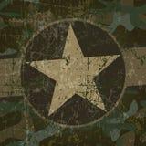 Fond militaire Image libre de droits