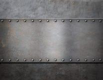 Fond militaire de punk de vapeur en métal photos libres de droits