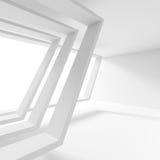 Fond minimal d'architecture Concept moderne d'ingénierie Photos libres de droits