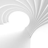 Fond minimal d'architecture Concept moderne d'ingénierie Photo stock
