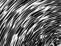 Fond minimalistic géométrique élégant de chrome de rayure Photos libres de droits